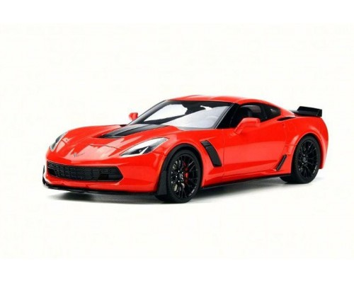 1:18 Scale Chevrolet Corvette Z06 - Red