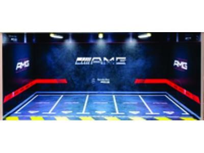 Jays Models 1:18 Garage Display with Lights - AMG 5 Car