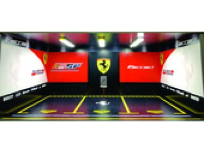 Jays Models 1:18 Garage Display with Lights - Ferrari 3 Car