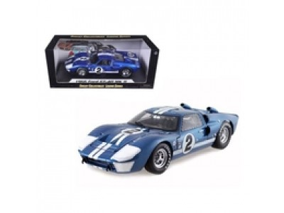 1:18 Scale 1966 Ford GT40 Mark II Blue