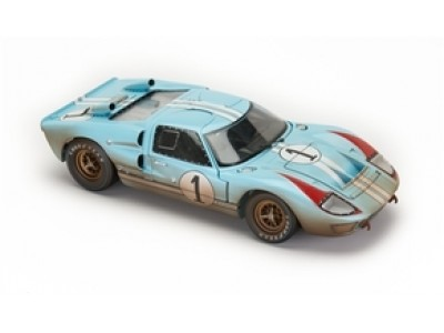 1:18 Scale 1966 Ford GT40 Mark II Gulf Blue - After Race Edition