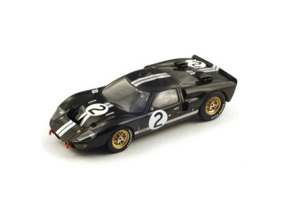 1:18 Scale 1966 Ford GT40 Mark II Black