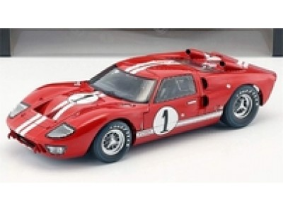 1:18 Scale 1966 Ford GT-40 Mark II - Red