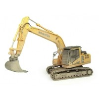 1:50 Scale Komatsu PC210 LC-11 Excavator - Muddy Version