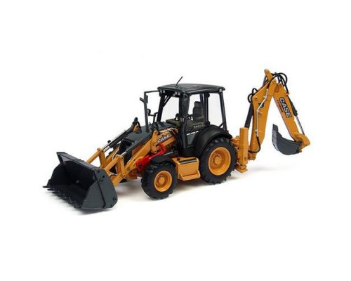 1:50 Scale Case 580 ST Backhoe Loader