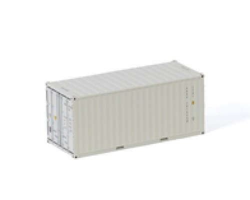 1:50 WSI 20 Foot Shipping Container - White