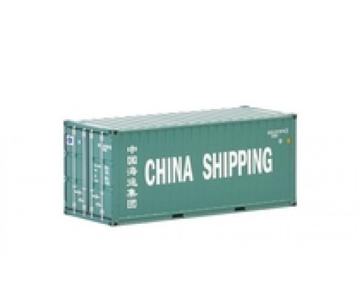 1:50 WSI 20 Foot Shipping Container - China Livery