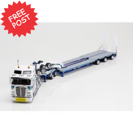 Kenworth K200 - Drake 3x8 Trailer & 2x8 Dolly -Mactrans