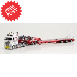 Kenworth K200 - Drake 3x8 Trailer & 2x8 Dolly - Higgs