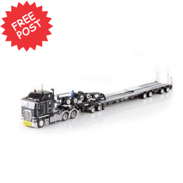 Kenworth K200 - Drake Dragline Bucket Trailer - Black