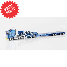 Kenworth K200 - Drake Dragline Bucket Trailer - Blue