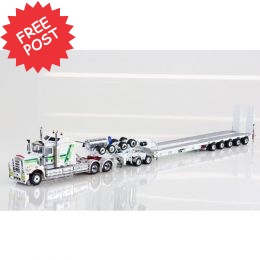 Kenworth C509 - Drake 5x8 Trailer & 2x8 Dolly - Hogans