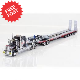Kenworth C509 - Drake 5x8 Trailer & 2x8 Dolly - NHH