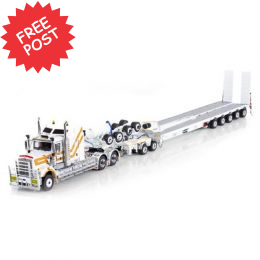 Kenworth C509 - Drake 5x8 Trailer & 2x8 Dolly - CQHH