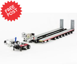 Drake 7x8 Steerable Trailer & 2x8 Dolly - NHH