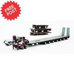 Drake 7x8 Steerable, 2x8 Dolly & Acc Kit - Burgundy