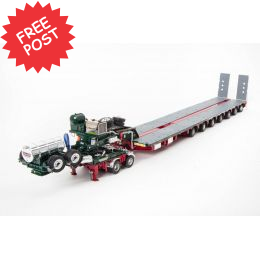 Drake 7x8 Steerable Trailer & 2x8 Dolly - Membrey's